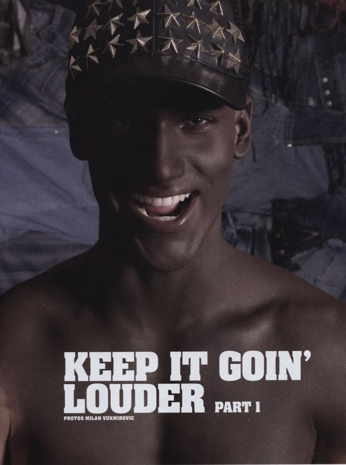 L'Officiel Hommes #19 | Keep It Goin' Louder--Arthur Sales by Milan Vukmirovic