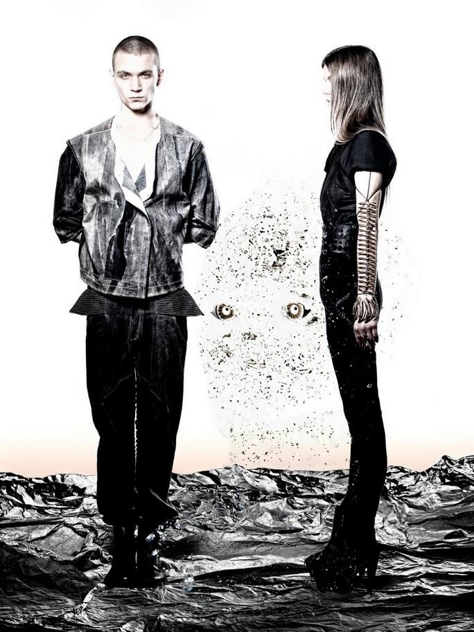 Editorial Exclusive | Baby Dust Starring Yuri Pleskun & Nicole Erber by Steven Chu