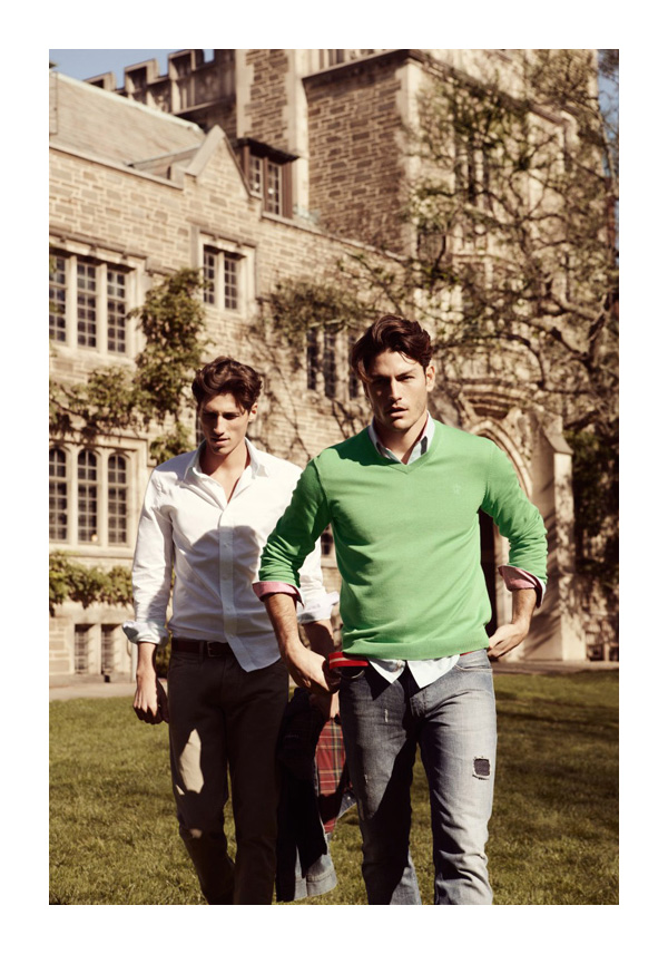 Brothers Spring 2010 Campaign | Tyson Ballou & Ryan Kennedy by Marcus Ohlsson