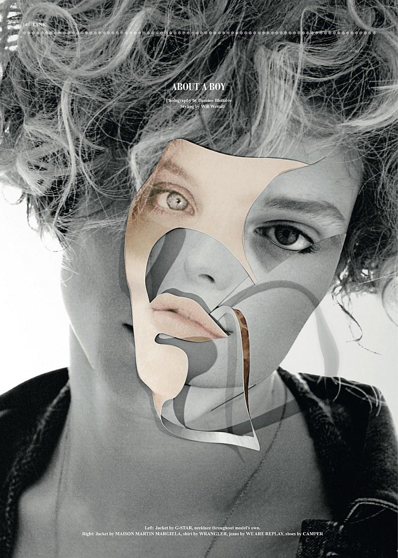 About a Boy | Chris Rayner by Damien Blottière