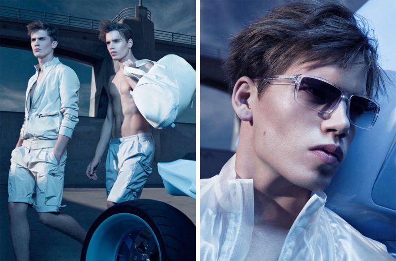 CK Spring 2010 Campaign | Mark Cox & William Eustace by Craig McDean