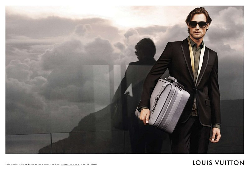 Louis Vuitton Spring 2010 Campaign Preview | Gabriel Aubry by Josh Olins