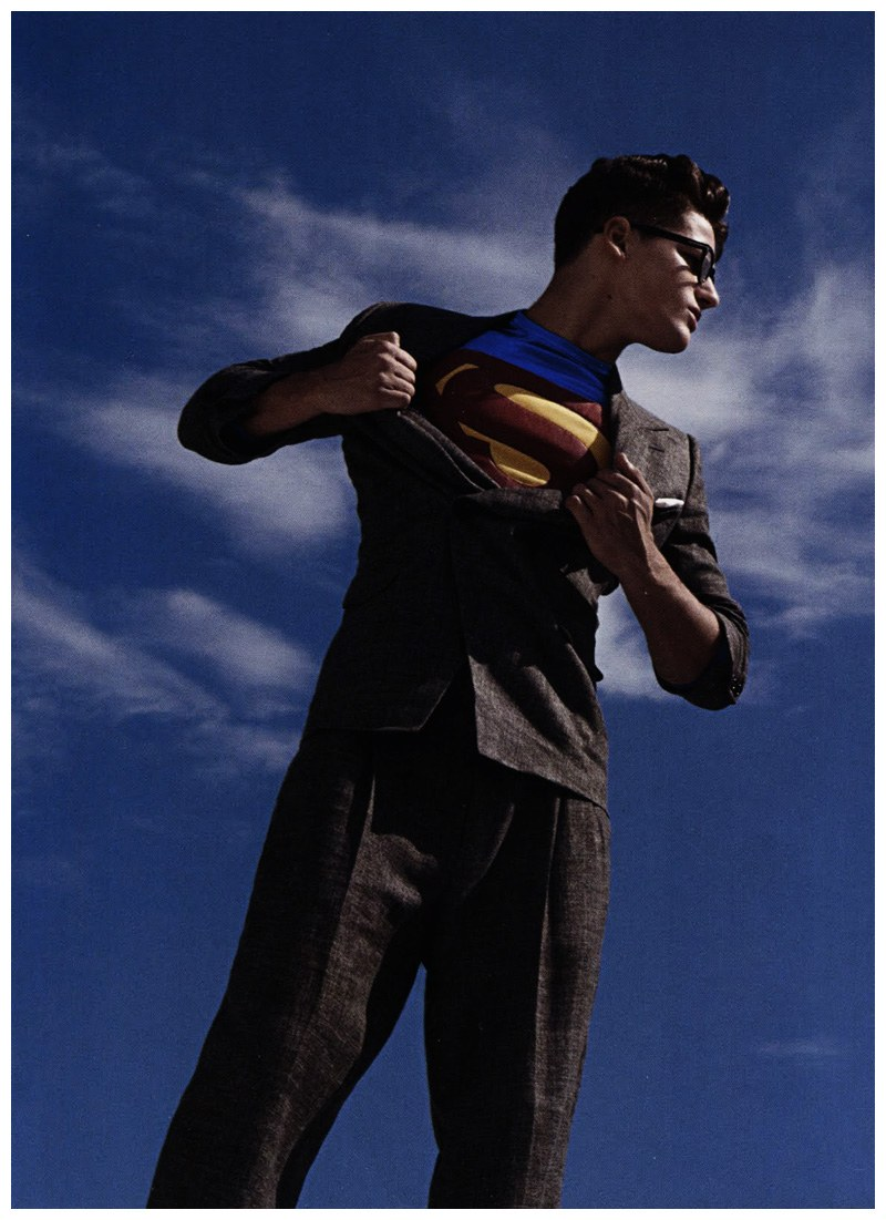 L'Officiel Hommes #19 | We Could Be Heroes--Arthur Sales by Milan Vukmirovic