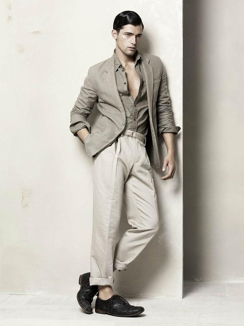Zara Man Spring/Summer 2010 Campaign & Catalogue | Sean O'Pry