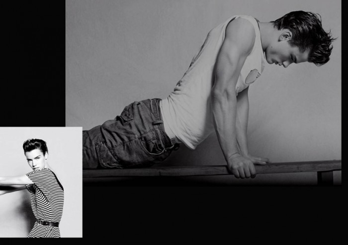 Armani Jeans Spring/Summer 2010 Campaign | Simon Nessman by Takay