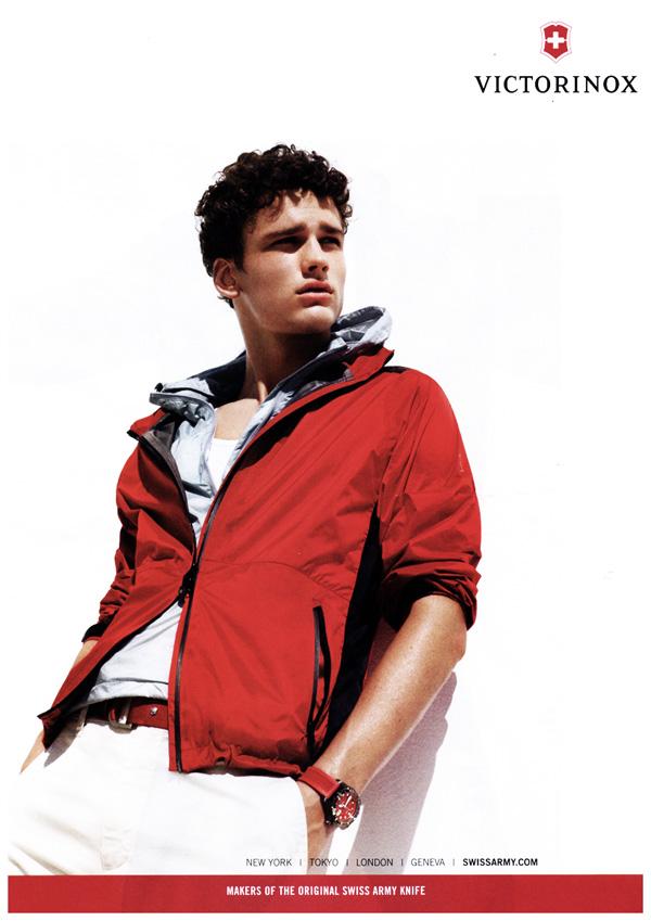 Spring 2010 Campaigns   Simon Nessman for Victorinox & Macy's