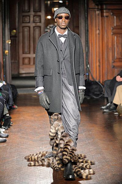New York Fashion Week   Thom Browne Fall 2010