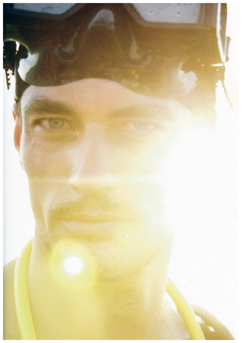 Scuba | David Gandy by Greg Lotus for GQ Style Germany