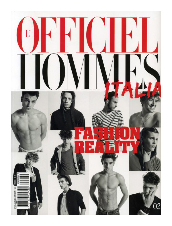 L'Officiel Hommes Italia #2 Cover | Fashion Reality by Milan Vukmirovic