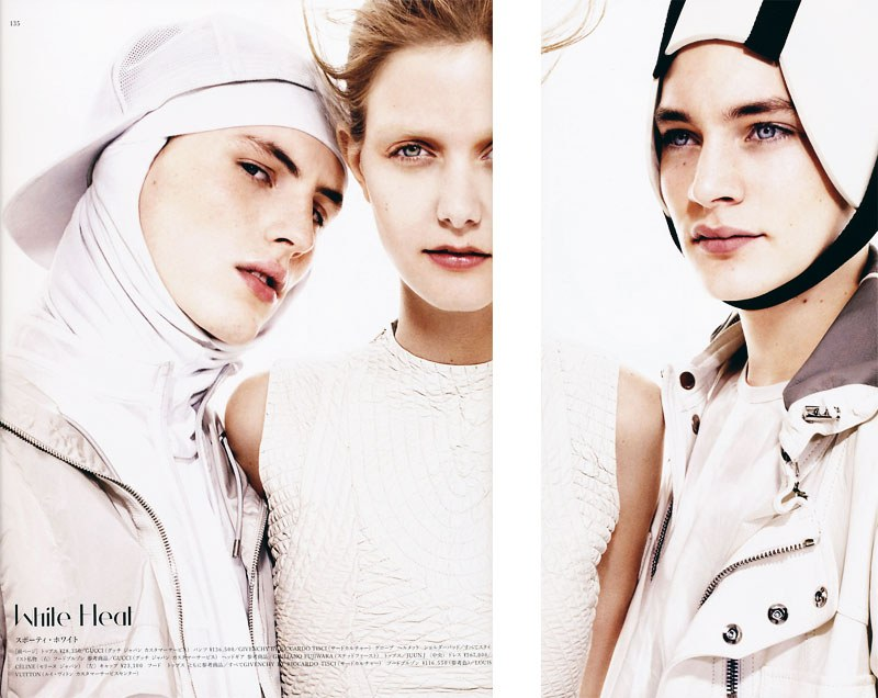 Vogue Hommes Japan | Innocence Abroad by Miguel Reveriego