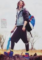 Chris Rayner by Toshio Onda for Popeye May 2010