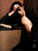 Claude Simonon by David Sims for Vogue Hommes International Spring 2010