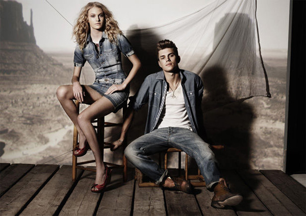 André Bentzer by Anja Boxhammer   Yalook Used Denim Campaign