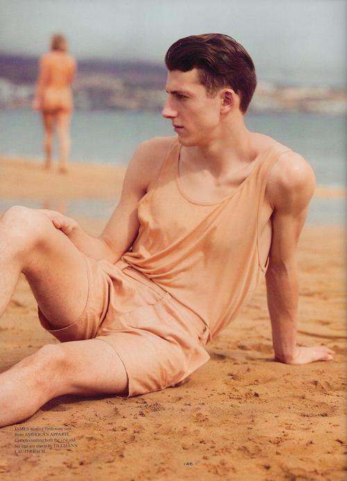 James Wells Goes Nude for Benjamin Alexander Huseby | Fantastic Man