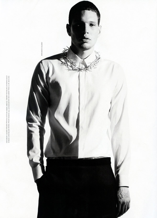 Manuel Ramos & Eduardo Calero by Willy Vanderperre | The Making of the Givenchy Man
