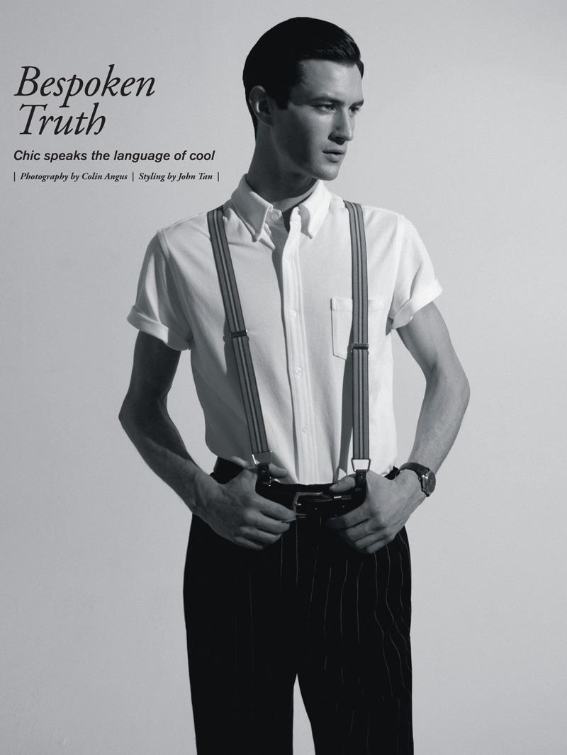 Owen Steuart by Colin Angus in Bespoken Truth | Modern Luxury