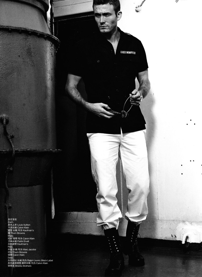 Men's Vogue China Spring 2010 | The Soldiers' Mutiny by Blair Getz Mezibov