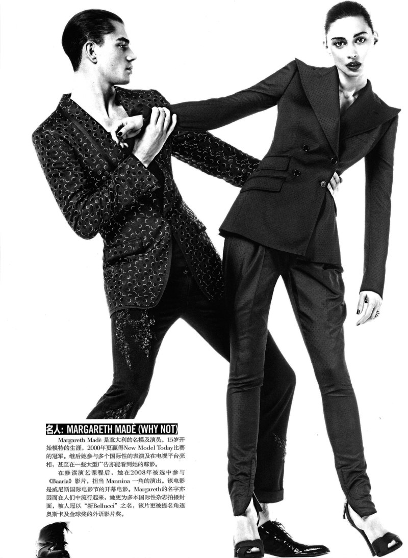 Clinton Weber & André Bentzer by Giampaolo Sgura | Dolce & Gabbana 20th Anniversary