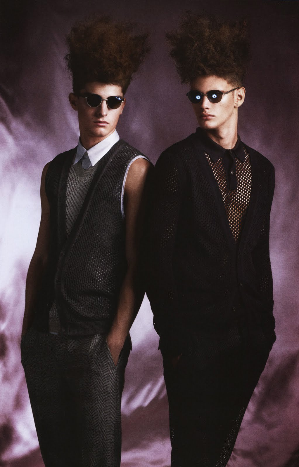 Paolo Anchisi & Joan Pedrola by Terry Gates for FHM Collections