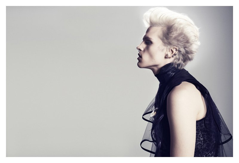 Wiktor Hansson as Billy Idol by Bo Egestroem for Tush Magazine