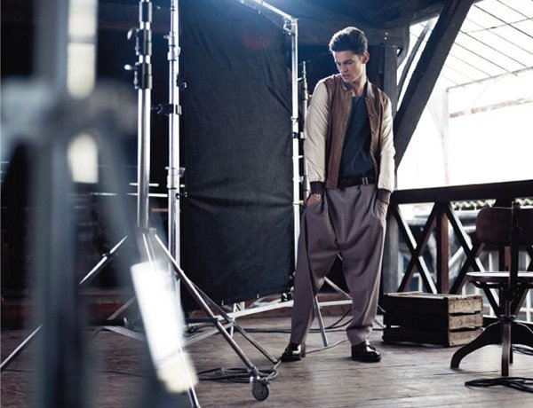 Baptiste Giabiconi by Nicolas Valois for So Chic