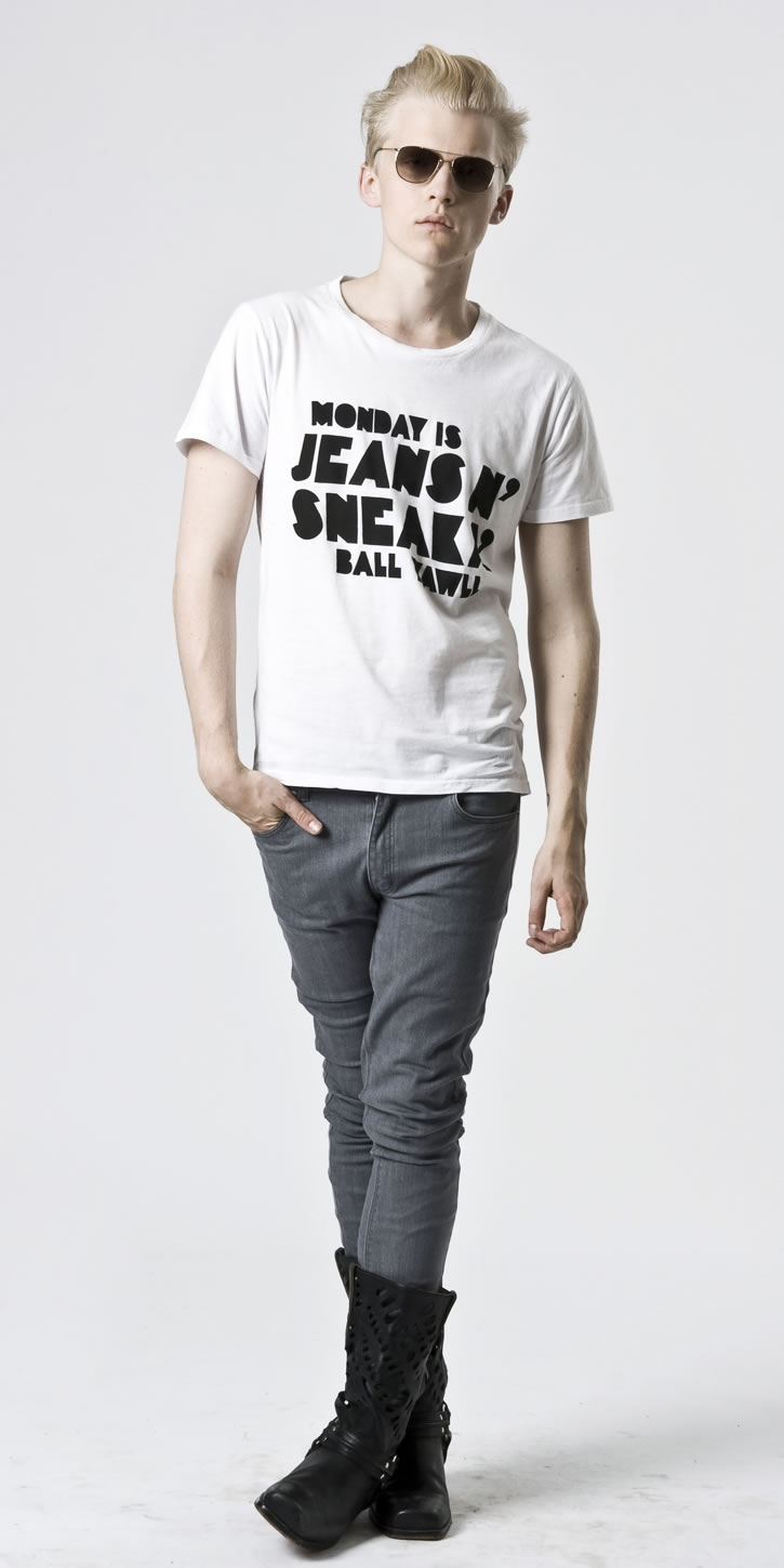Wiktor Hansson for Cheap Monday Spring 2010 Flash Collection image
