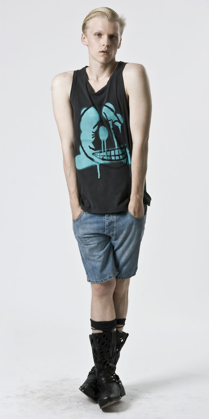 Wiktor Hansson for Cheap Monday Spring 2010 Flash Collection
