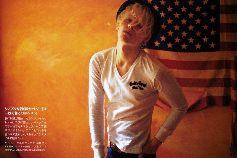 Wiktor Hansson by Tokumaru Junichiro for Fudge July 2010