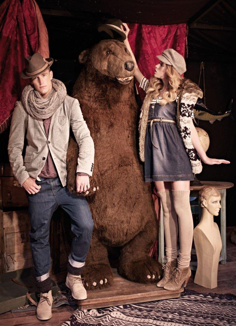 Sam Way & Rodrigo Calazans by Mariano Vivanco for Pull & Bear Fall 2010