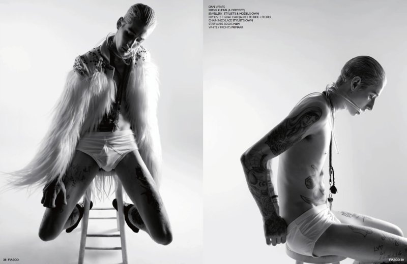 I Am Here by Louis Park for Fiasco Magazine