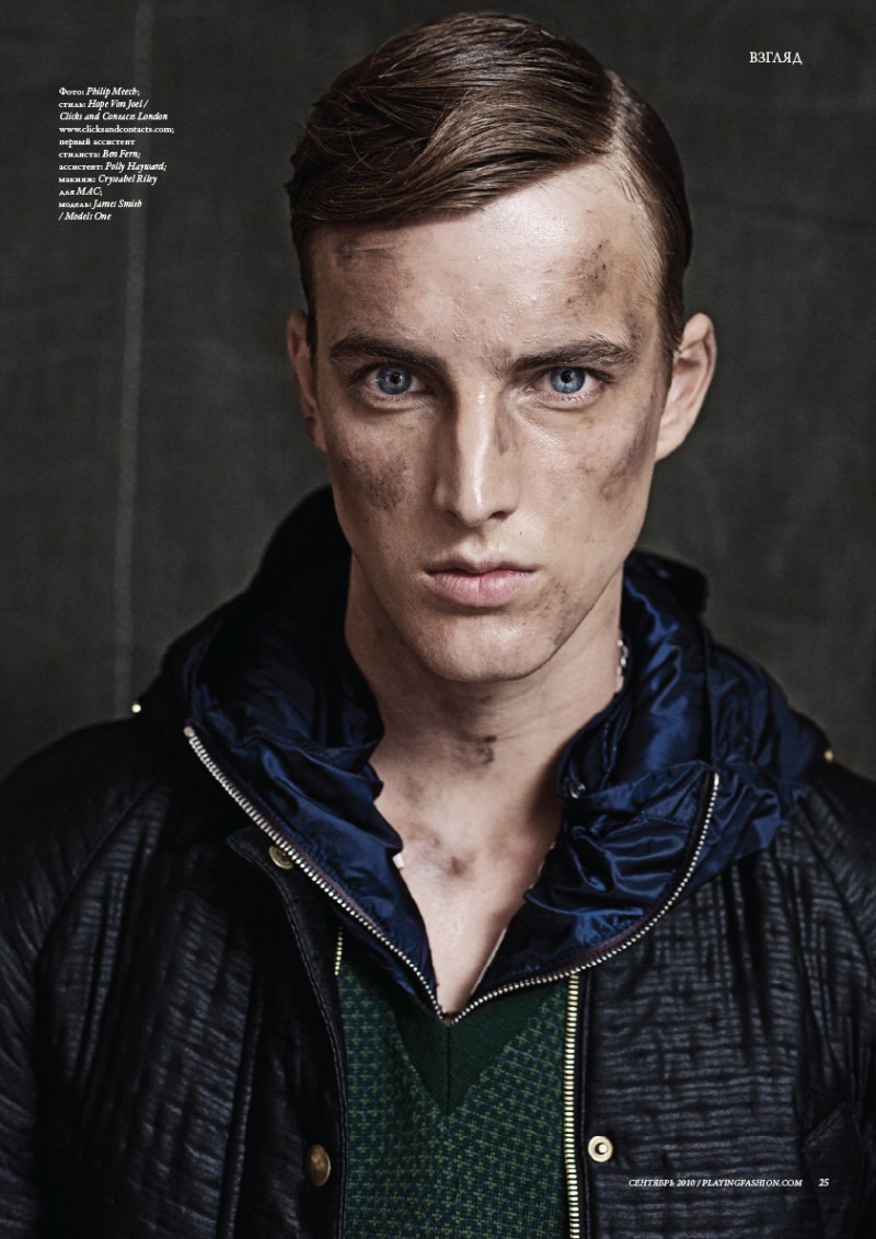 James Smith by Philip Meech for Playing Fashion September 2010