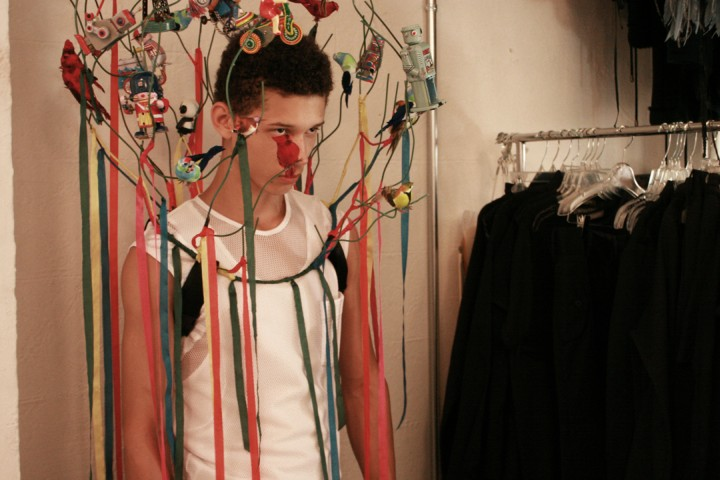 PetrouMan Spring 2011 | Behind the Scenes with Abiah Hostvedt by Kirt Reynolds