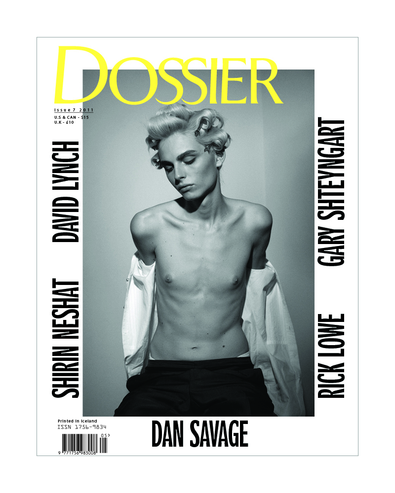 Collier Schorr photographs Andrej Pejic for a controversial Dossier cover that some newsstands censor.