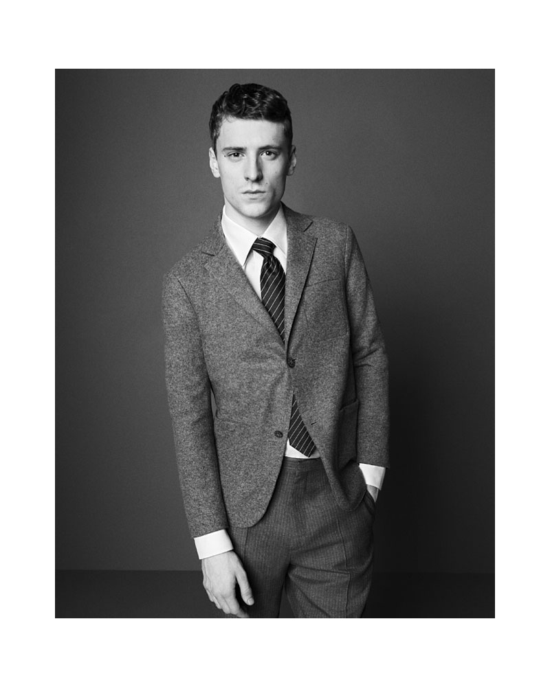 George Barnett by Paul Wetherell for Dunhill Fall 2011