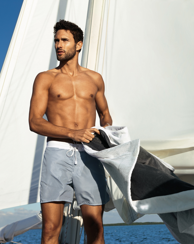 Noah Mills By Dean Isidro For Calzedonia Spring 2011