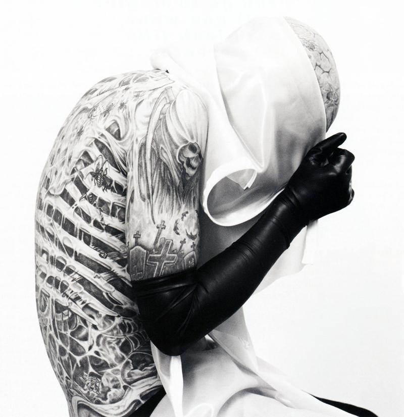 Rick Genest by Karim Sadli for GQ Style UK