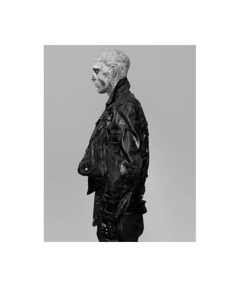 Rick Genest by Steven Klein for Arena Homme+