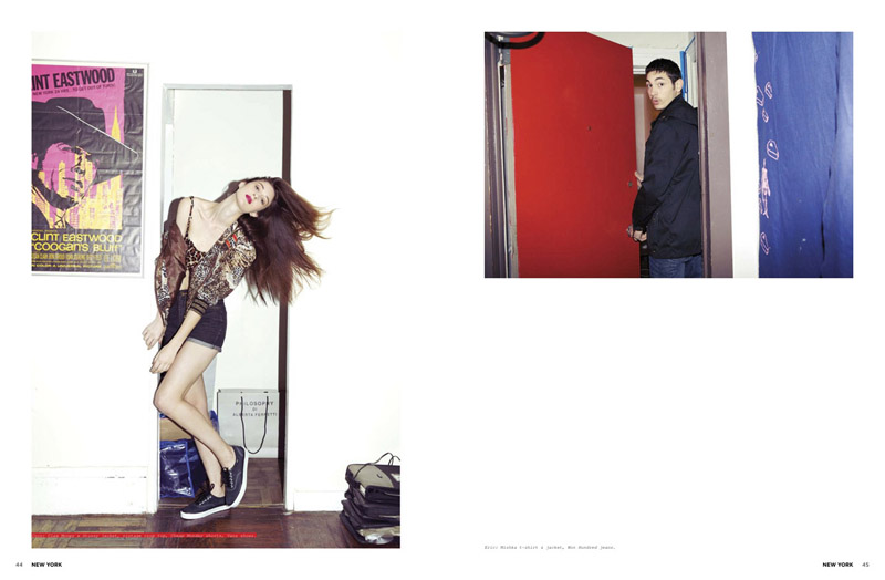 Clinton Weber, Eric Ramos & Yuri Pleskun by Marley Kate for Acclaim Magazine