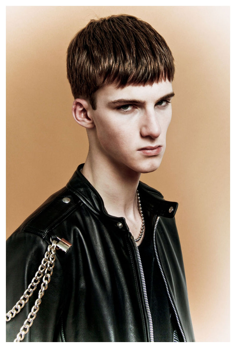 Isaac Carew, Jaco Van Den Hoven, Jacob Coupe & Jeremy Young by Lorenzo Marcucci for Flaunt