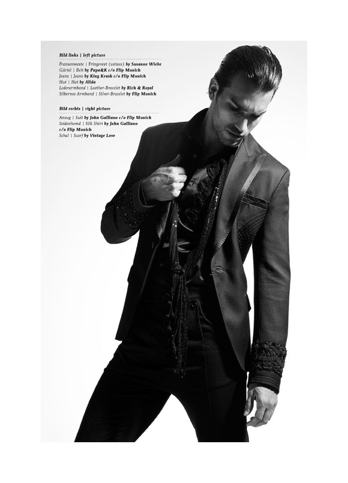 Bruno Santos by Andreas Ortner for Cocoon Germany