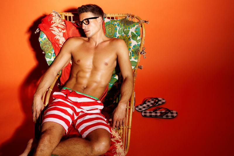 Jean Carlos by David Dunan for Blanco Color Splash Summer 2011 Campaign