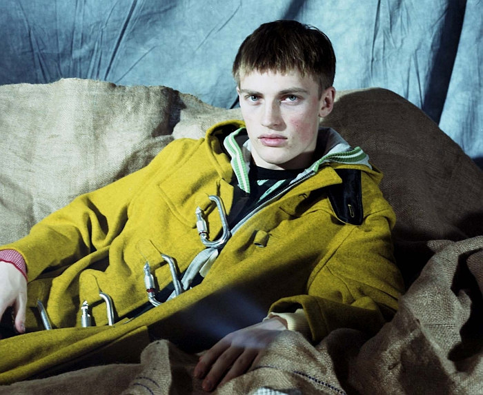 Victor Nylander by Leon Mark for Common & Sense Man