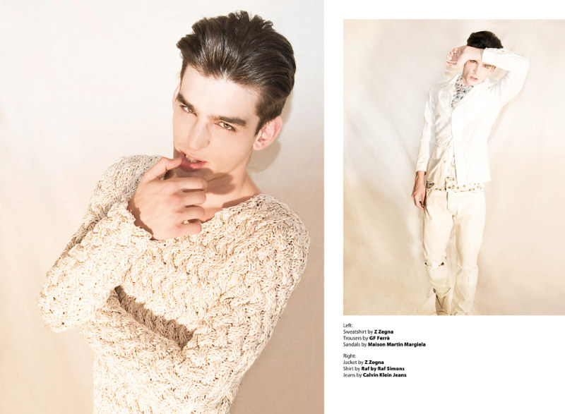 Samuele Visentin by Ivan Muselli for Essential Homme