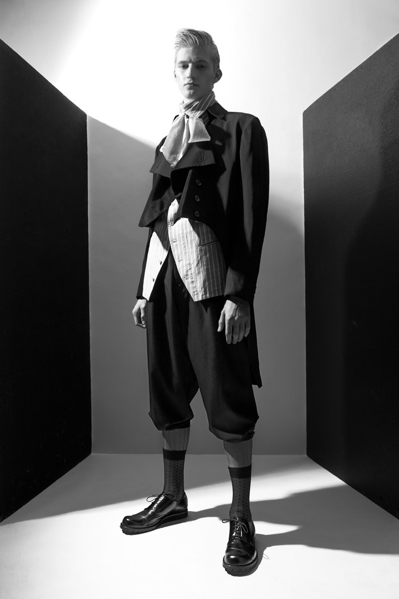 Pascal Bonvie by Philippe Vogelenzang in Yohji Yamamoto