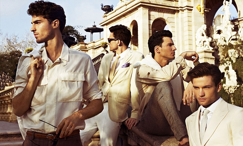 Antonio Navas, Alejandro Rodriguez, George Paul, Juan Betancourt & Steve Gold by Sergi Pons for Icon