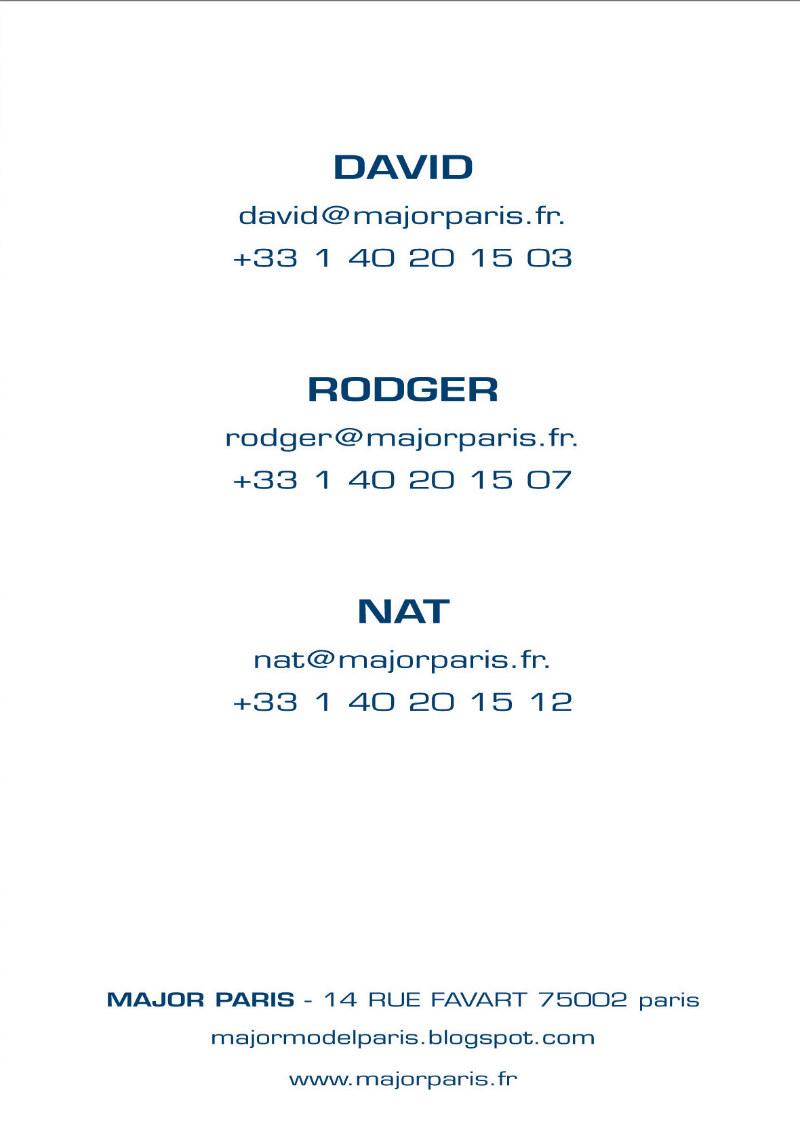 Major Paris Show Package Spring/Summer 2012