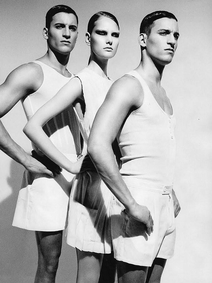 Jonathan & Kevin Sampaio by Ellen von Unwerth for Tush