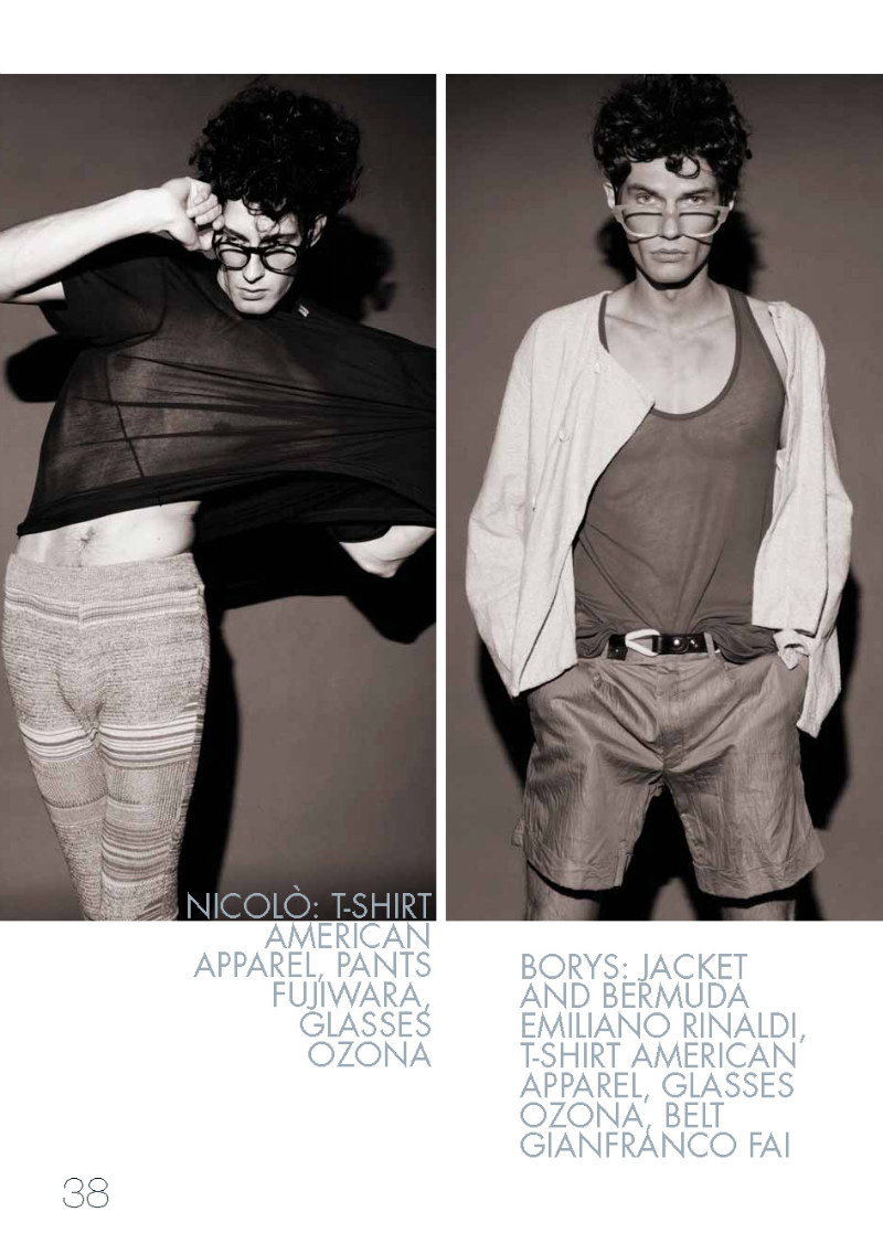 Borys Starosz & Nicolo Novelli by Ryan Jerome for Out of the Box