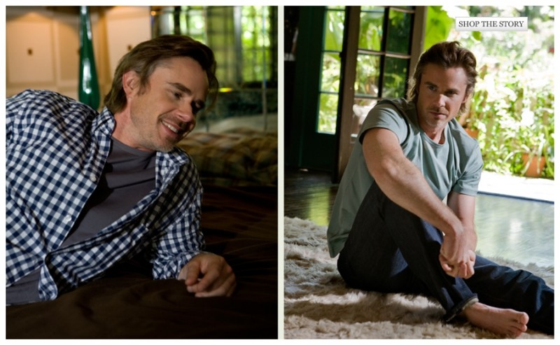 Sam Trammell Relaxes with Mr Porter for Photo Shoot | The ...