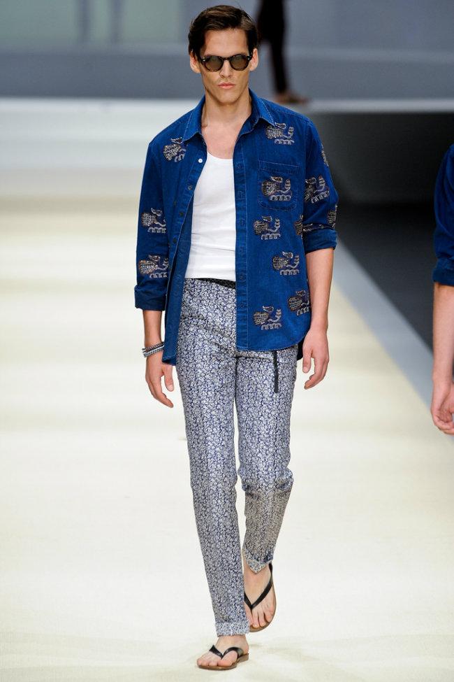 Canali Spring 2012 | Milan Fashion Week | The Fashionisto